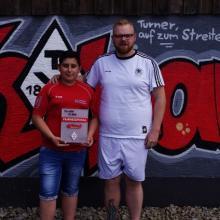 Frohnatur Giacomo erhält Eibach Fairnesspokal 2017