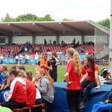 Lisa Rademacher bei den Westfälischen Meisterschaften