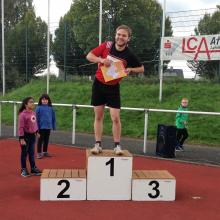 Quereinsteiger Robin Krabbe holt Kreistitel in der Leichtathletik