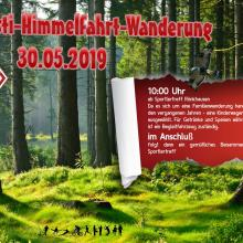 Himmelfahrtwanderung am Donnerstag 30.05.2019