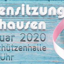 1. Damensitzung am 12.01.2020 in Rönkhausen!