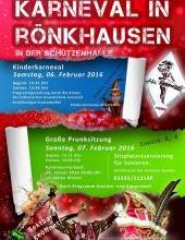 Karneval 2016 in Rönkhausen