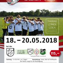 Fussballcamp der Fussballfabrik an Pfingsten 2018