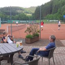 Tennis - 1. Spieltag Ü40 gegen Drolshagen