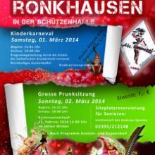 Programmabfolge Große Prunksitzung am Sonntag, 02.03.2014
