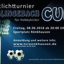 Anmeldung Glingebach Cup am 08.06.2018