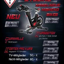 Indoor Cycling Angebot beim TV Rönkhausen