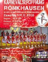 Karnevalseröffnung Rönkhausen am 19.11.2016