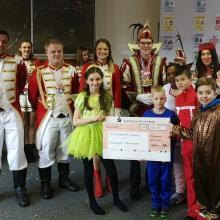 Prinzengarde spendet erneut an Rönkhauser Kinder