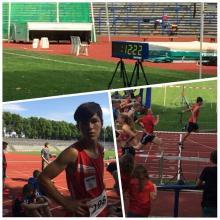 Marius Fiebig unter den Top 10 bei den Westfälischen U16-Meisterschaften