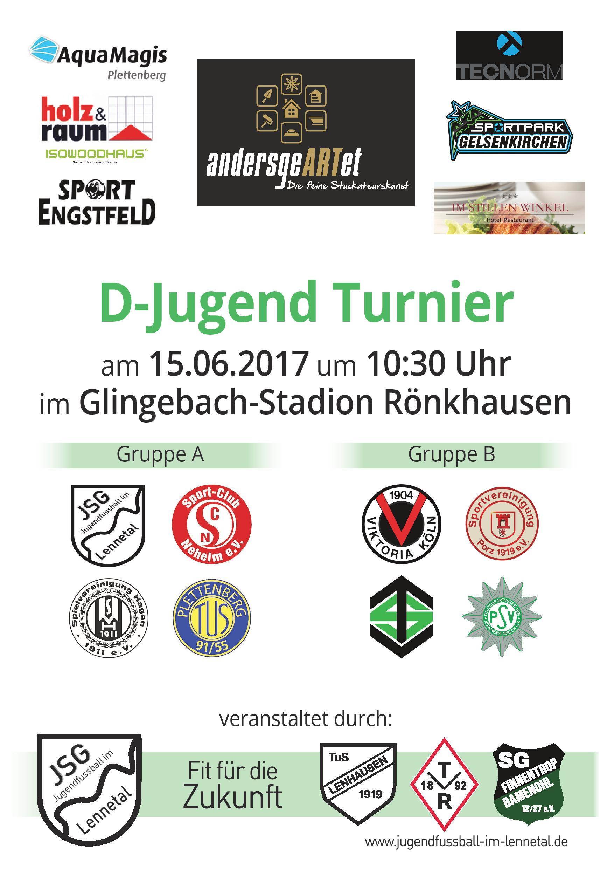 Plakat D Jugendturnier